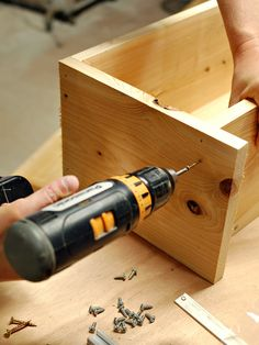 How to Build a Window Box - on HGTV