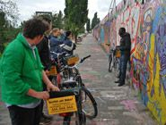 Fahrradtour Berliner Mauer