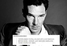 My thoughts exactlty. Andranae Cumberbatch has a lovely ring to it, right? lol! ❤️