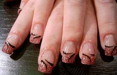 Simple Nail Designs For Short Nails step by step
