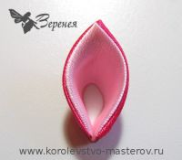 Kanzashi petal tutorial