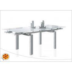 Mesa de comedor extensible Vonice