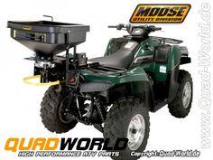 Moose Salzstreuer 12Volt Salzstreuer Streuer Saatgutstreuer ATV Materialstreuer für Salz und Dünger von Moose 12 Volt-Variable-Breite ATV Moose ATV-Streuer