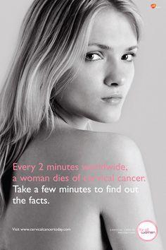 Get your Pap test done ladies! I am a survivor because I got mine -trish