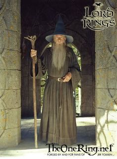 discussion of Gandalf's costume and how to go about creating it yourself