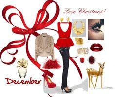 """Love Christmas!"" by ub5mom on Polyvore"