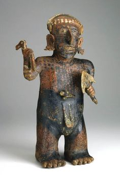 Standing Male Figure, Unknown, circa 200 B.C.E.–300 C.E., Gift of Mr. and Mrs. S. J. Levin