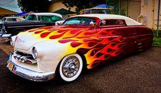 Custom Rat Rods, Custom Cars, Classic Trucks, Classic Cars, Car Paint Jobs, Motorcycle Paint Jobs, Mercury Cars, Auto Retro, Us Cars