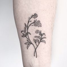 23 Floral Tattoos That Are So Much Better Than a Bouquet: Aside from the climbing temperatures and glorious sunshine, our favorite thing about Spring is the foliage.