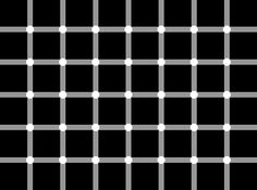 Try to count the number of black dots on the image below...