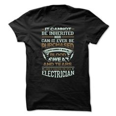 Awesome Electrician Shirt - #white shirt #tshirt upcycle. Awesome Electrician Shirt, grey tshirt,burgundy sweater. LIMITED AVAILABILITY =>...