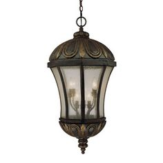 Uhland 35.25-In Old Tuscan Outdoor Pendant Light 20203466