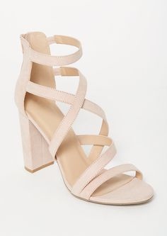 Going out out? You need these pale pink strappy heels featuring a crisscross front and zippered back with tassel details. Pink Prom Shoes, Pink Dress Shoes, Pink Wedding Shoes, Prom Heels, Dress And Heels, Girls Shoes, Wedding Dress, Pink Strappy Heels, Light Pink Heels