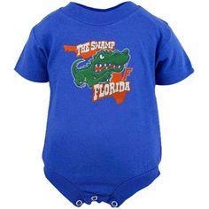 Florida Gators Infant Cartoon Logo Creeper - Royal Blue 320a8fe0bc3c