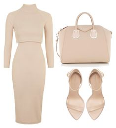 """NUDE"" by samstyles001 on Polyvore featuring Topshop, Zara and Givenchy"