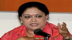 Vasundhara  stakes claim to form government in Rajasthan