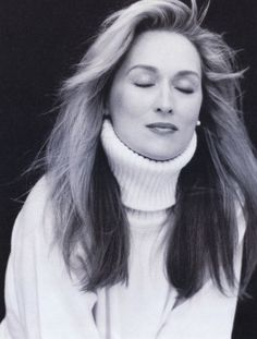 Beautiful Picture of the Brilliant Meryl Streep, My Favorite Actor...
