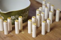 DIY Burt's Bees Style Lip Balm Recipe – 8¢ Per Tube - I might give this a try... I love Burt's Bees.