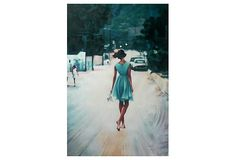 Thom Saliot, Bared Feet Blue Dress | Find the Perfect Piece | One Kings Lane $189