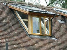Glass shed dormer