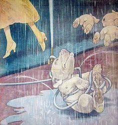 Bonzo cartoon 1920-30 by George Studdy