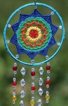 Ravelry: Crystal Crochet Mandala pattern by Jennifer E. Ryan