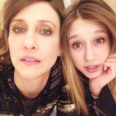 Vera and Taissa Farmiga- Coolest sisters ever