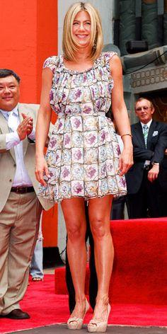 Jennifer Aniston in Prada #InStyle