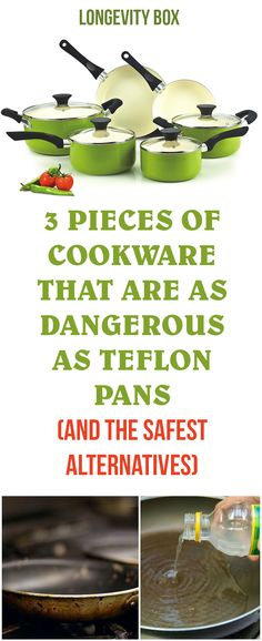 3 Pieces of Cookware That Are as Dangerous as Teflon Pans (and the safest alternatives)