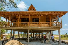 Almost completed Bamboo home..crazy cool | cpeppermalloy ...