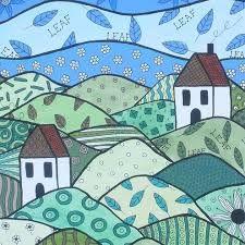 patchwork painting - Google zoeken