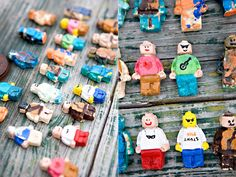DIY Lego Salt Dough Characters that kids can make themselves!