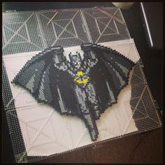 Batman perler bead art by supermom2