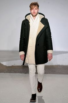 Controlled texture from Maison Martin Margiela Fall 2013 Menswear