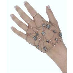 Runa Jewelry Stars Diamond Chain Hand Bracelet ($9,809) ❤ liked on Polyvore featuring jewelry, bracelets, gold, fine jewellery, star jewelry, grey jewelry, diamond jewelry and chains jewelry