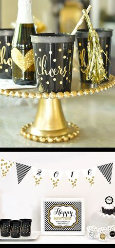 New Year's Eve Party Ideas You'll love!
