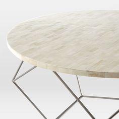brass + concrete coffee table   concrete coffee table and concrete
