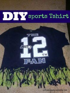 Spirit t shirts on pinterest football moms school for Diy school spirit shirt