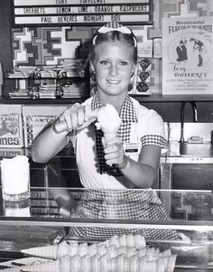 I really do miss the Bridgeman's Ice Cream Parlors. Grandma would give us a dime to go and get an ice cream cone.