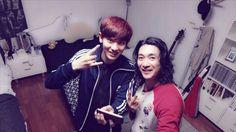 Chanyeol with shin