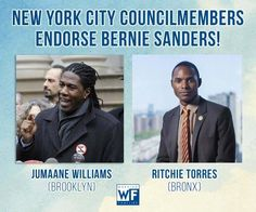 NYC Council Members endorse Bernie Sanders