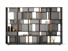 LLOYD Bookcase THE COLLECTION - Furniture and Complementary units Collection by Poltrona Frau design Jean-Marie Massaud