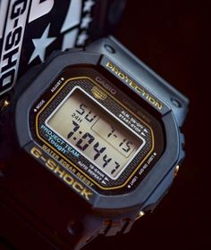 """2765c0a32 G-SHOCK Steven Watch Collector on Instagram: """"This awesome shot of the G- Shock DW-5035 35th Anniversary Model is made by @watch.dude ❤ #dw5035 ..."""