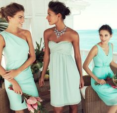 love this colour for a bridesmaid dress