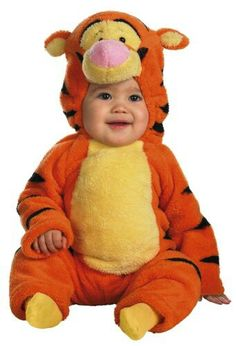 Tigger Halloween costume for babies