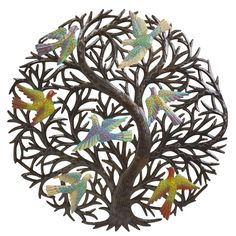 An Old Town Volunteer Registry Fave: Tree of Hope Wall Hanging #tenthousandvillages