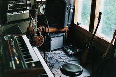 Blues Junior, ES335, a Strat and a Juno-6 (Heaven!)