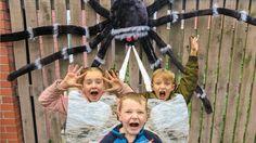 GIANT SPIDER ATTACKS GIRLS - Daddy Spider Kills - Spider Freak Movie! Giant Spider, Daddy, Girls, Youtube, Movies, Toddler Girls, 2016 Movies, Giant Huntsman Spider, Daughters