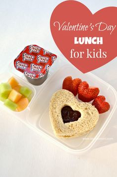 A sweet Valentine's Day lunch idea for kids. Send your child to school on Valentine's Day with a lunch that shows you care.