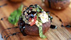 Caprese-Quinoa-Grilled-Stuffed-Mushrooms-with-Balsamic-Glaze